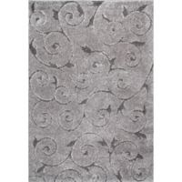 nuLOOM Maisha 6-Foot 7-Inch x 9-Foot Shag Area Rug in Dark Grey
