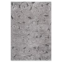 nuLOOM Maisha 7-Foot 10-Inch x 10-Foot Shag Area Rug in Dark Grey