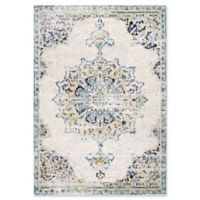 nuLOOM Sunny Wildflower Medallion 5-Foot x 7-Foot 5-Inch Area Rug in Blue