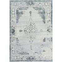 nuLOOM Vintage Sherrell 3-Foot x 5-Foot Area Rug in Light Grey