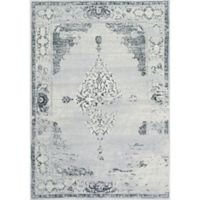 nuLOOM Vintage Sherrell 5-Foot 3-Inch x 7-Foot 7-Inch Area Rug in Light Grey