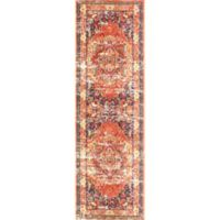 nuLOOM Vintage Mackenzie 2-Foot 6-Inch x 8-Foot Runner in Orange