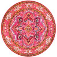 nuLOOM Vintage Mackenzie 5-Foot 3-Inch x 7-Foot 7-Inch Area Rug in Pink