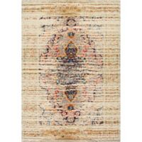 nuLOOM Distressed Persian Sarita 5-Foot 3-Inch x 7-Foot 7-Inch Area Rug in Sand