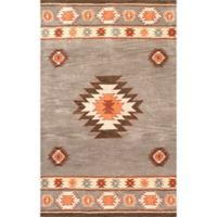 nuLOOM Hand Tufted Shyla 2-Foot x 3-Foot Accent Rug in Grey