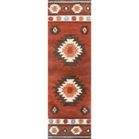 nuLOOM Hand Tufted Shyla 2-Foot 6-Inch x 12-Foot Runner in Wine