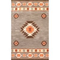nuLOOM Hand Tufted Shyla 5-Foot x 8-Foot Area Rug in Grey