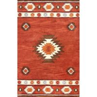 nuLOOM Hand Tufted Shyla 7-Foot 6-Inch x 9-Foot 6-Inch Area Rug in Wine