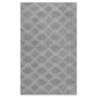nuLOOM Wilhelmina 5-Foot x 8-Foot Area Rug in Grey