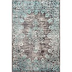 nuLOOM Vintage Corene 5-Foot x 8-Foot Area Rug in Blue