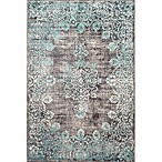 nuLOOM Vintage Corene 6-Foot x 9-Foot Area Rug in Blue