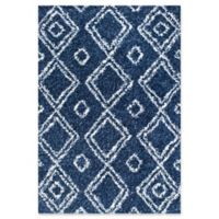 nuLOOM Iola Easy Shag 4-Foot x 6-Foot Area Rug in Blue