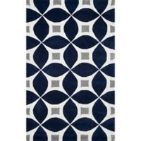 nuLOOM Gabriela 2-Foot x 3-Foot Accent Rug in Navy