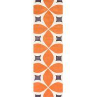 nuLOOM Gabriela 2-Foot 6-Inch x 10-Foot Runner in Orange
