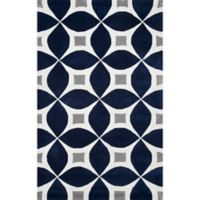 nuLOOM Gabriela 4-Foot x 6-Foot Area Rug in Navy