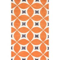 nuLOOM Gabriela 4-Foot x 6-Foot Area Rug in Orange
