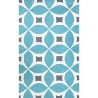 nuLOOM Gabriela 4-Foot x 6-Foot Area Rug in Baby Blue