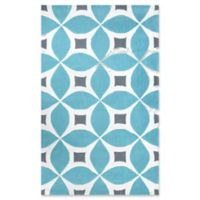 nuLOOM Gabriela 5-Foot x 8-Foot Area Rug in Baby Blue