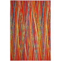Safavieh Aztec Citlali 6-Foot 7-Inch x 9-Foot Area Rug in Orange