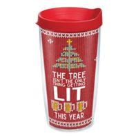 "Tervis® ""Lit Christmas"" 16 oz. Wrap Tumbler with Lid"