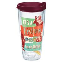 Tervis® Warner Brothers® Seinfeld Festivus 24 oz. Wrap Tumbler with Lid