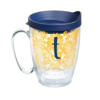 """Tervis® Blooming Initial """"T"""" 16 oz. Wrap Tumbler with Lid"""