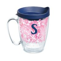 """Tervis® Blooming Initial """"S"""" 16 oz. Wrap Tumbler with Lid"""