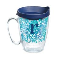 """Tervis® Blooming Initial """"R"""" 16 oz. Wrap Tumbler with Lid"""