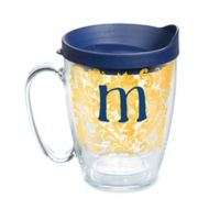 """Tervis® Blooming Initial """"M"""" 16 oz. Wrap Tumbler with Lid"""