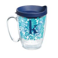 """Tervis® Blooming Initial """"K"""" 16 oz. Wrap Tumbler with Lid"""