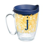 """Tervis® Blooming Initial """"J"""" 16 oz. Wrap Tumbler with Lid"""