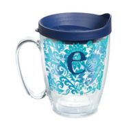 """Tervis® Blooming Initial """"E"""" 16 oz. Wrap Tumbler with Lid"""