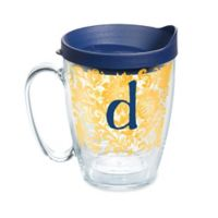 """Tervis® Blooming Initial """"D"""" 16 oz. Wrap Tumbler with Lid"""