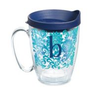 """Tervis® Blooming Initial """"B"""" 16 oz. Wrap Tumbler with Lid"""