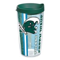"Tervis® ""Tulane Green Wave"" University Pride 16 oz. Wrap Tumbler with Lid"