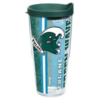 """Tervis® """"Tulane Green Wave"""" University Pride 24 oz. Wrap Tumbler with Lid"""