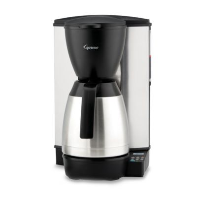 Capresso Mt600 Plus 10 Cup Programmable Coffee Maker With Thermal Carafe