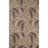 Leaf 8-Foot x 10-Foot Room Size Rug in Neutral
