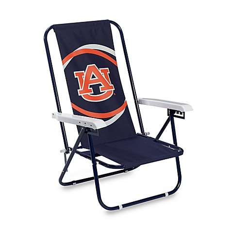Superb Collegiate Beach Chair   Auburn University