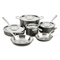 Buy Calphalon 174 Classic Stainless Steel 10 Piece Cookware