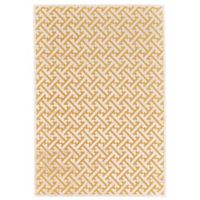 Feizy Rugs Soho Zam 5-Foot 3-Inch x 7-Foot 6-Inch Area Rug in Yellow/Ecru