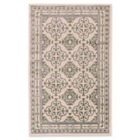 Feizy Aileen Medallion 8-Foot x 10-Foot Area Rug in Green/Cream