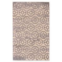 Feizy Aileen Abstract Geometric 8-Foot x 10-Foot Area Rug in Grey/Cream