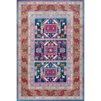 nuLOOM Tribal Marisela 6-Foot 7-Inch x 9-Foot Area Rug in Navy