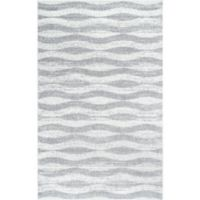 nuLOOM Tristan 2-Foot x 3-Foot Accent Rug in Grey