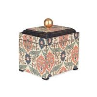 Household Essentials® Small Jewelry Storage Box in Green/Orange