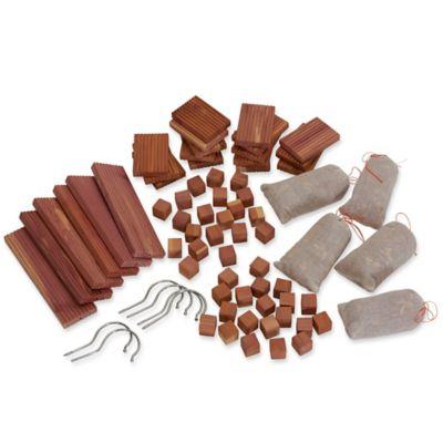 Household Essentials® 67 Piece Cedar Closet Storage Accessory Set In Natural