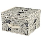 Home Basics® Paris Large Storage Box with Lid