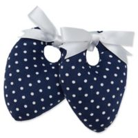 Protect My Shoes Women's ShoeStuffers in Navy/White Polka Dots (Set of 2)
