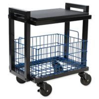 Urb SPACE Transformable 2-Tier Cart System in Black